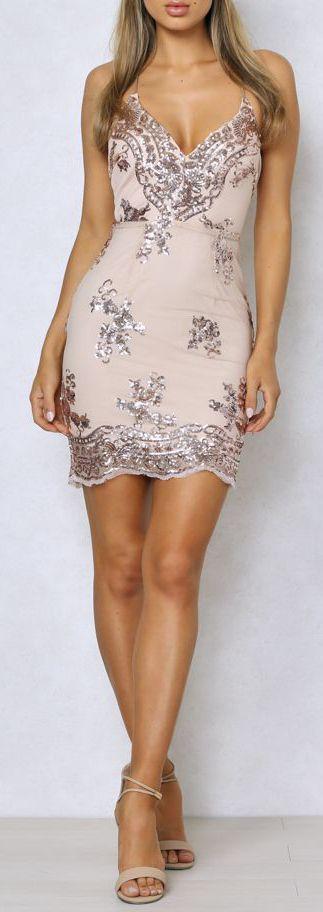 $49.99 Sequin Lace Vintage Dress