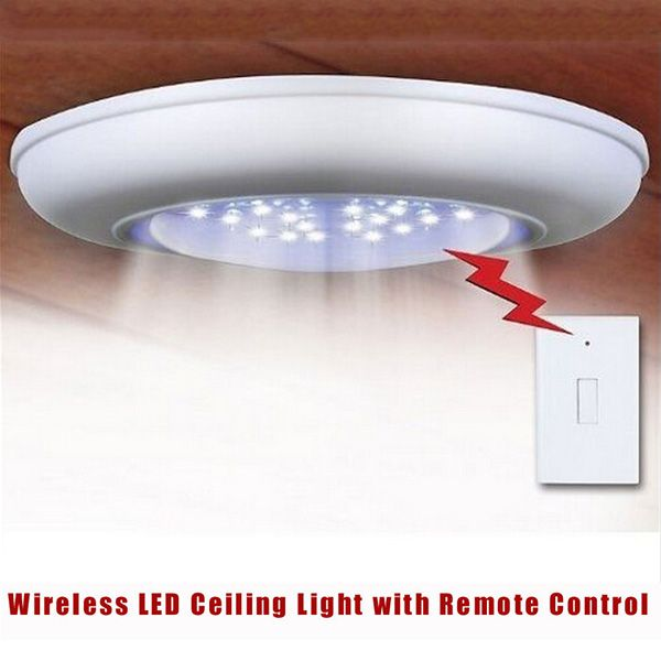 Cordless Ceiling Wall Light With Remote Control Remote Control Light Attic Lighting Wall Lights