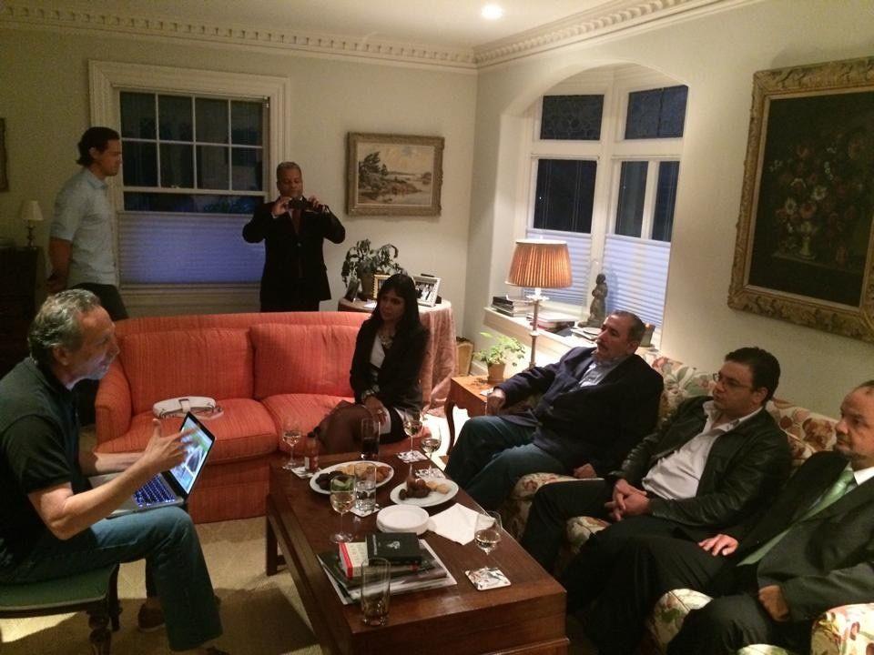 Reuniao da equipe do digaai.com com os mebros da CDLE - Boston