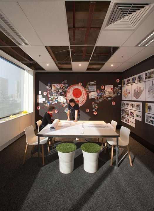 Red Design Group Melbourne Office Office Design Pinterest Red Fascinating Office Design Group