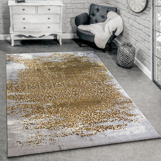 Moderner Teppich - gerne auch für das Wohnzimmer Mit orientalischem