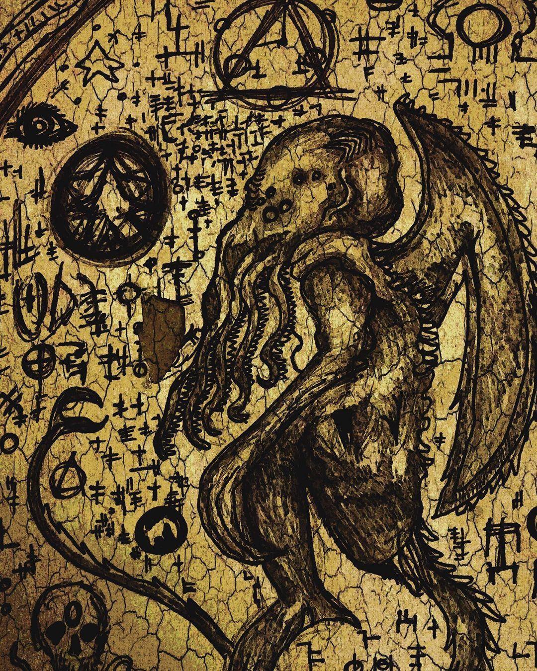 クトゥルフ神話 おしゃれまとめの人気アイデア Pinterest ゴルバチョフ クトゥルフ クトゥルフ神話 神話