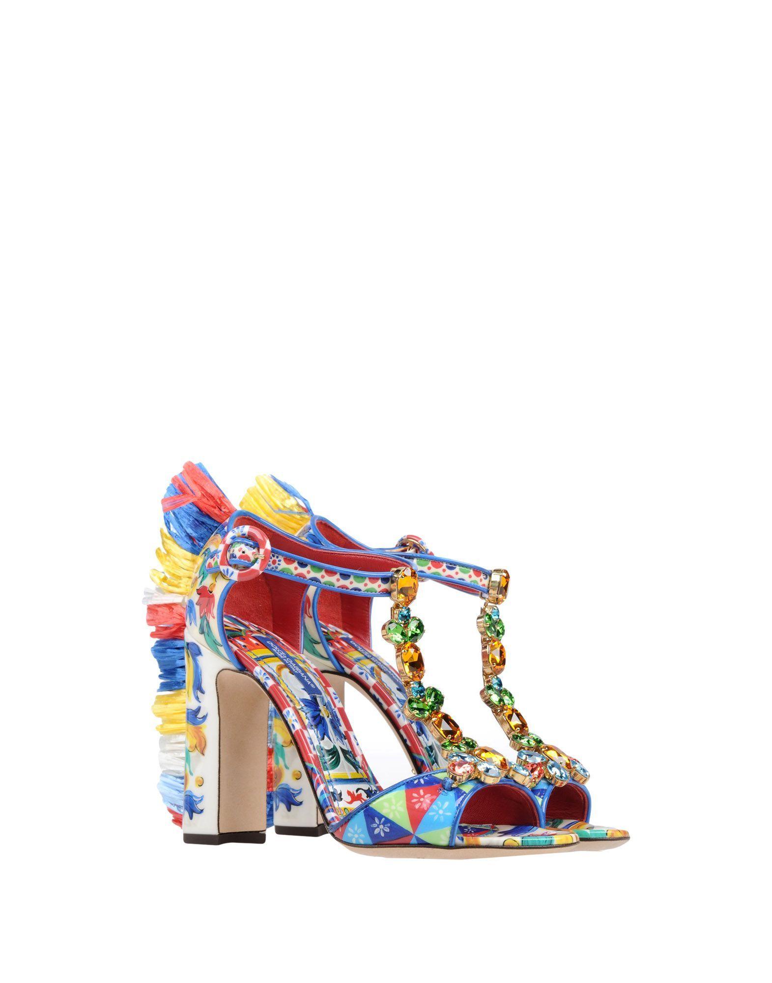 4f84ad55c35 Πέδιλο Dolce & Gabbana Γυναίκα - Πέδιλα Dolce & Gabbana στο YOOX -  11465748XX