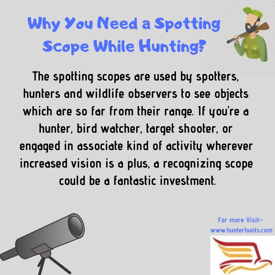 Why You Need A Spotting Scope While Hunting Spotting Scopes High Contrast Images Scope