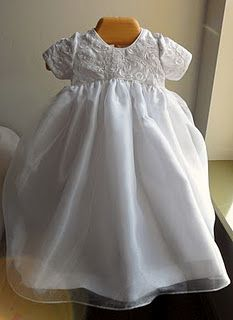 Mommy S Wedding Dress Made Into Baby S Christening Dress