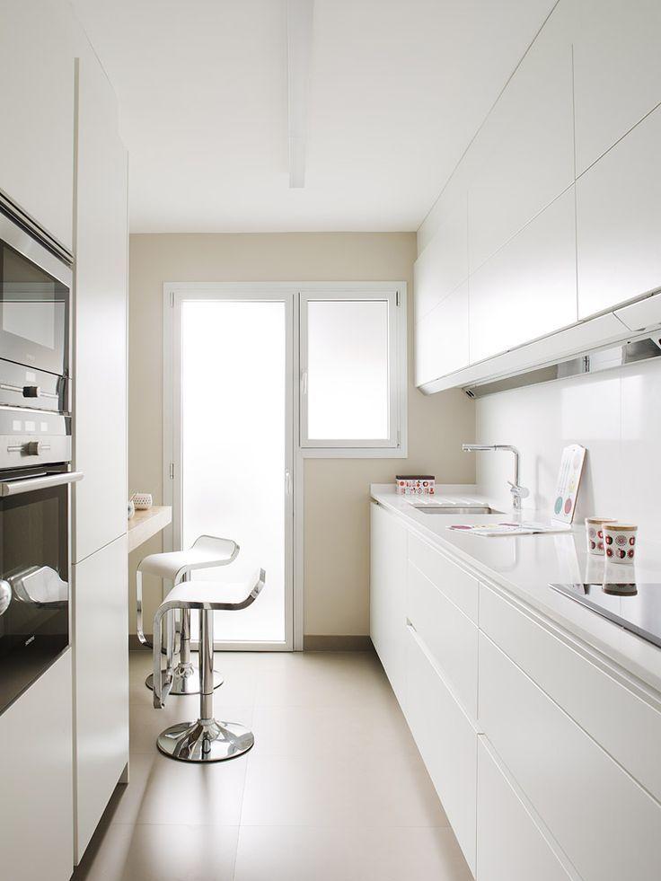 SANTOS kitchen Cocina SANTOS modelo LINE proyectada por nuestro - kleine küchenzeile ikea