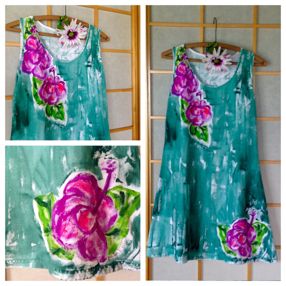 Woman Sun Dress Plus Size Dress Beach Resort Wear Hawaiian