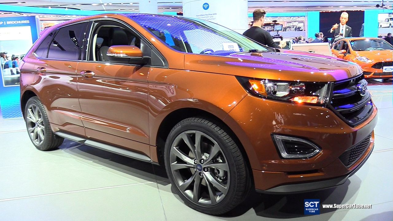 épinglé par CM ⊱2017 Ford Edge Sport AWD Exterior and