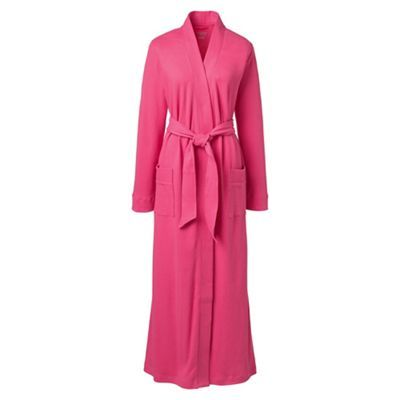 Lands\' End Pink cotton sleep-t dressing gown | Debenhams | GOWNS ON ...