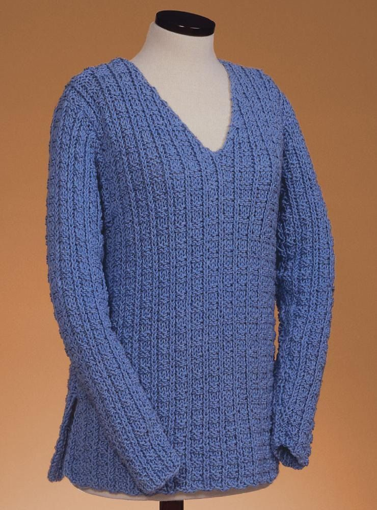 Sailor's Rib V-Neck Pullover 126 | My next projects