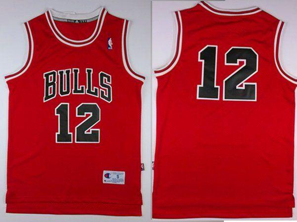 bulls 12 jersey