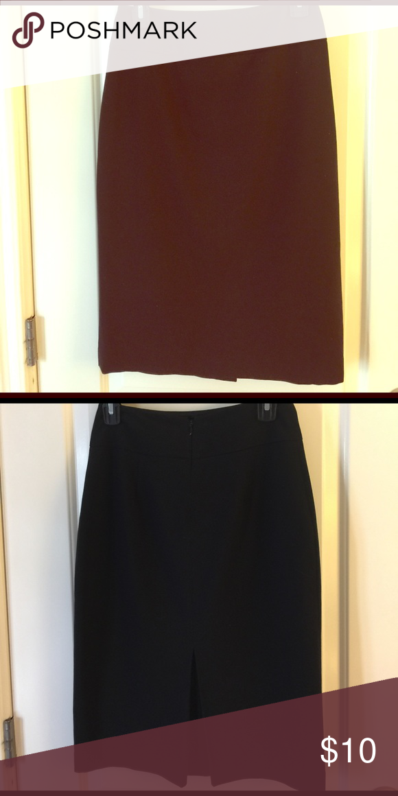 Black high waist pencil skirt. Black high waist pencil skirt falls below the knee mid calf. Perfect for work/office Skirts Pencil
