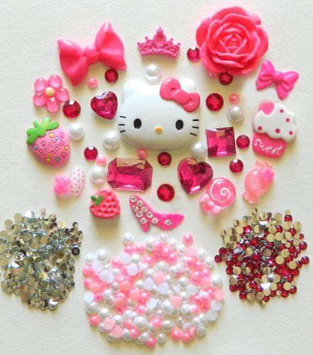 LOVEKITTY DIY Hello Kitty Bling Bling Cell Phone Case Resin Flatback Deco Kit / Set, http://www.amazon.com/dp/B005Q2XTR8/ref=cm_sw_r_pi_awdm_ChFjub0DM463F