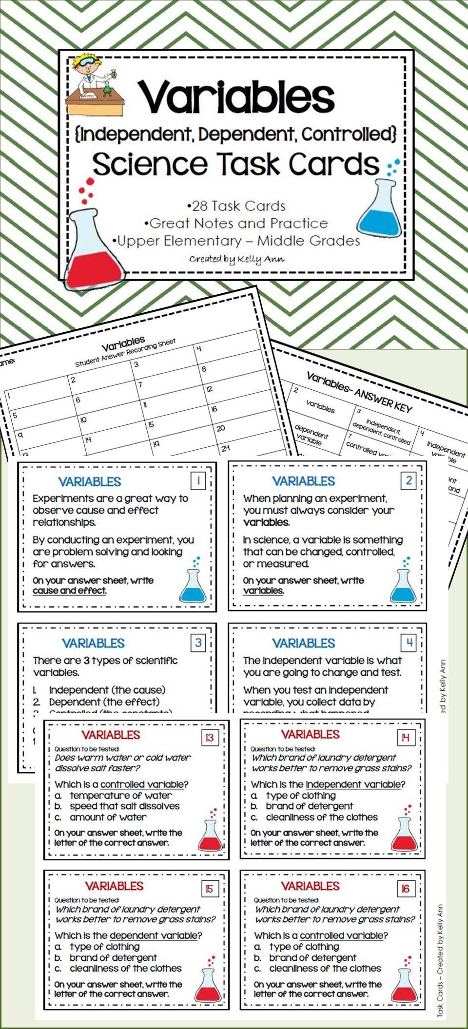 Worksheet Independent And Dependent Variables Worksheet Algebra