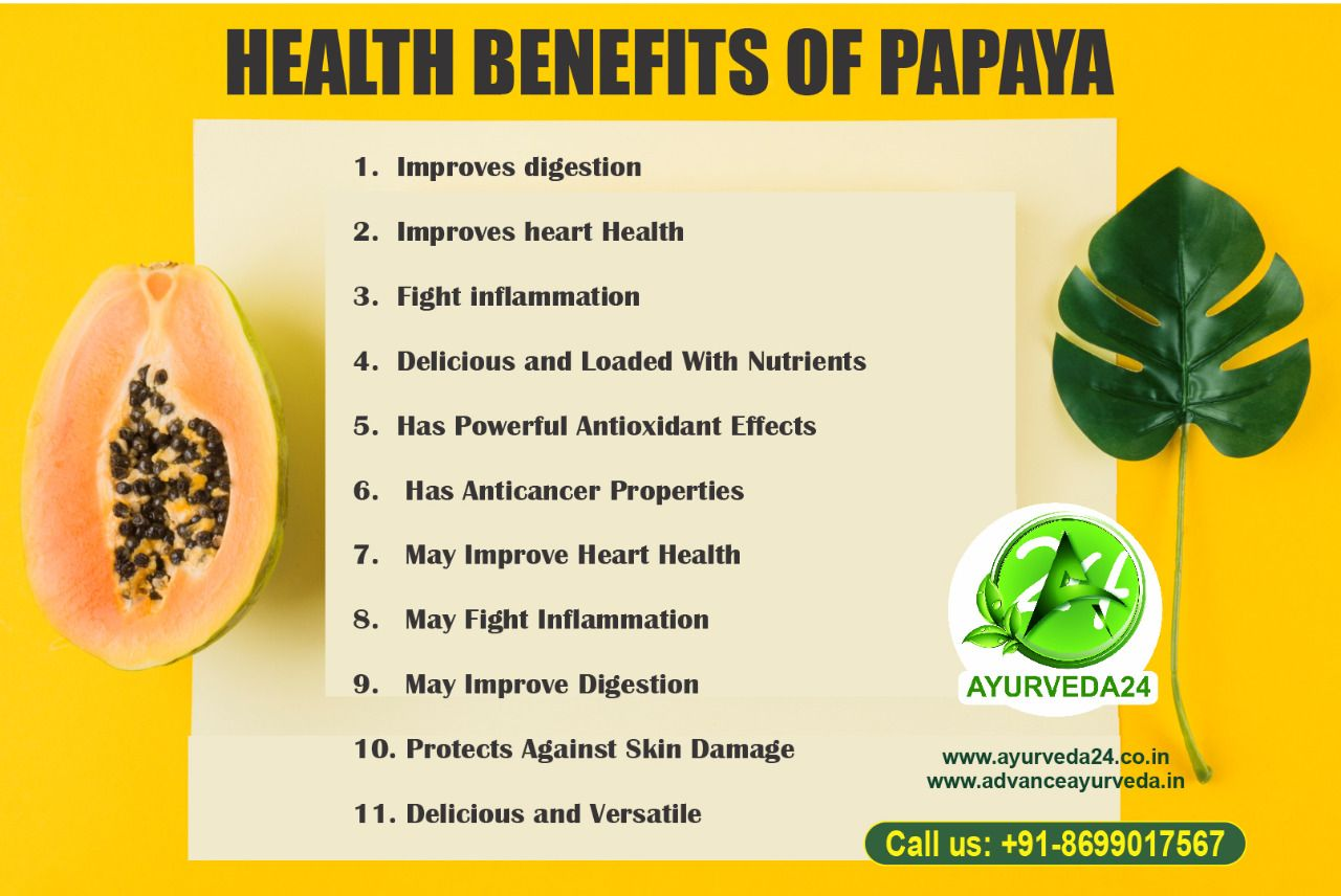 Papaya, A plant which enriches our life in different ways