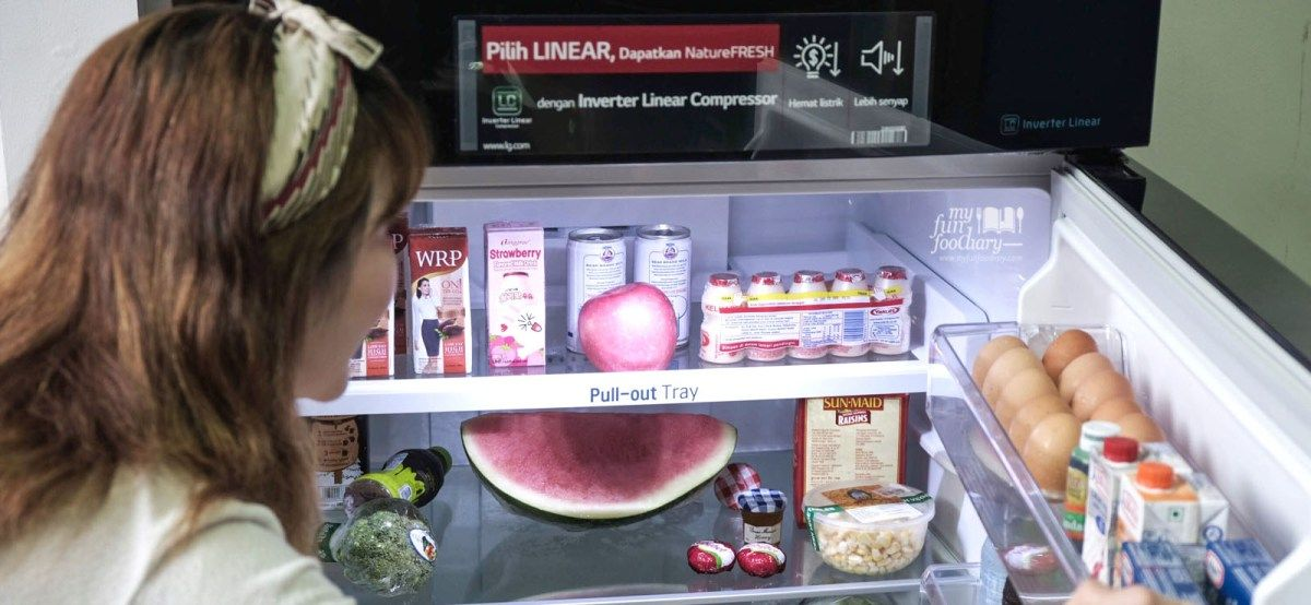 [NEW] Life's Good with LG Linear Top Freezer Freezer