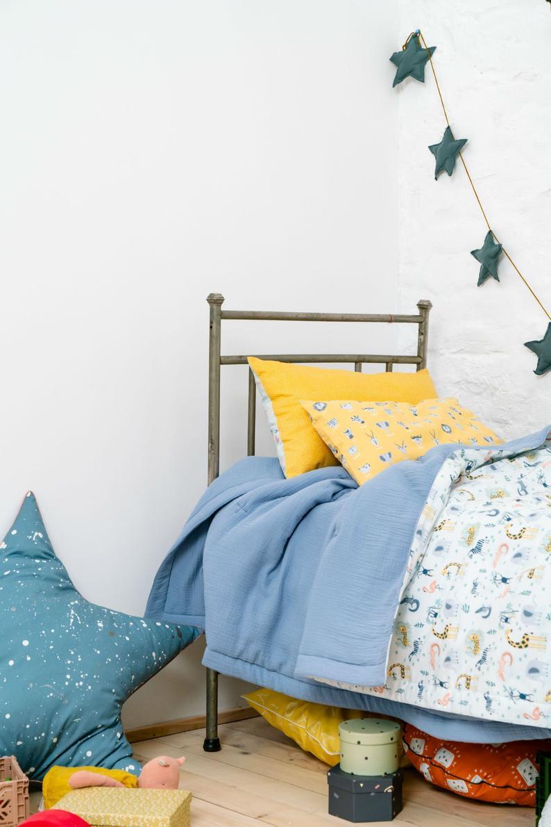 Baby Quilt Quilt Bedding Boy Safari Crib Quilt Blue Crib Etsy In 2020 Baby Boy Crib Bedding Sets Boys Crib Bedding Sets Baby Boy Crib Bedding