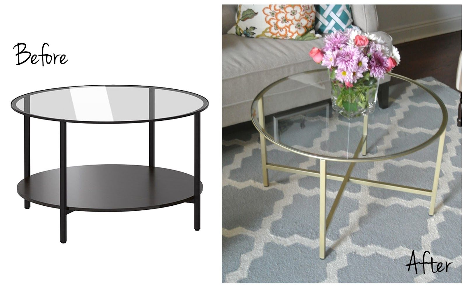 A Blog About Home Decor And Diy Inspiration Modern Farmhouse Coffee Table Ikea Coffee Table Decor