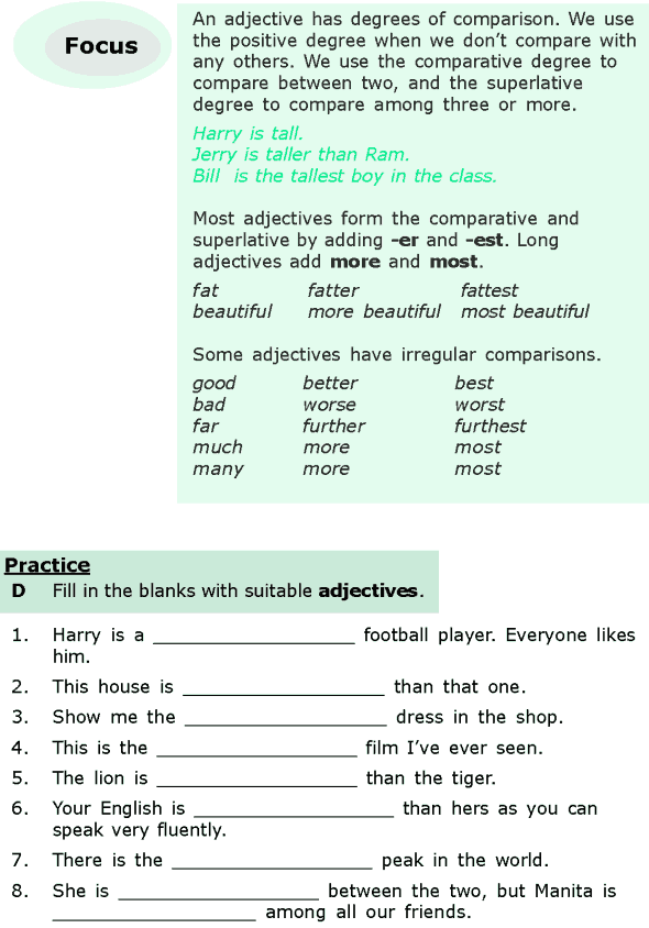 Grade 6 Grammar Lesson 15 Adjectives And Adverbs 4 English