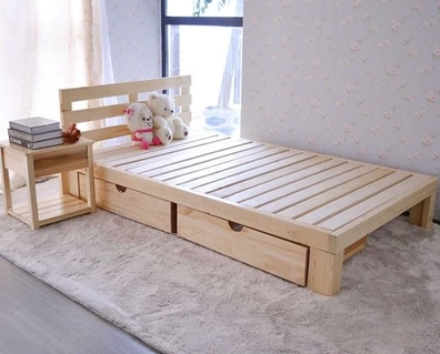 80 Cheap Twin Bed Children S Bed Wood Bed Pine Bed Double 1 21