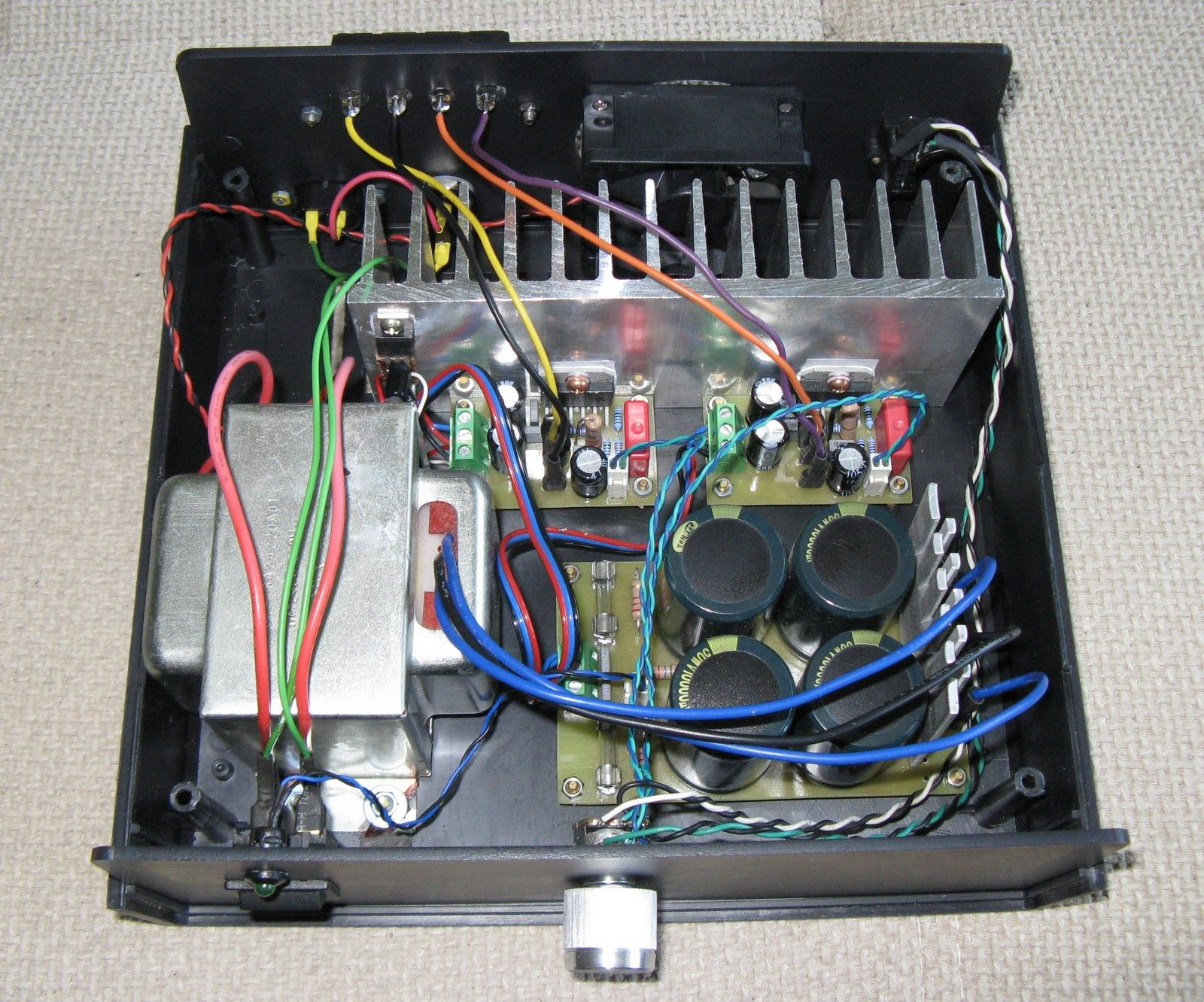 50W LM3886 Power Amplifier Two guys and a tractor