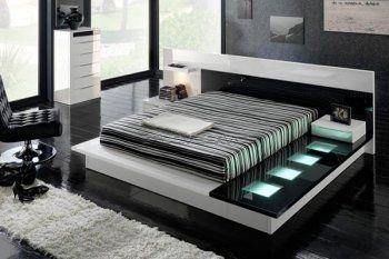 Toledo Modern Platform Bed