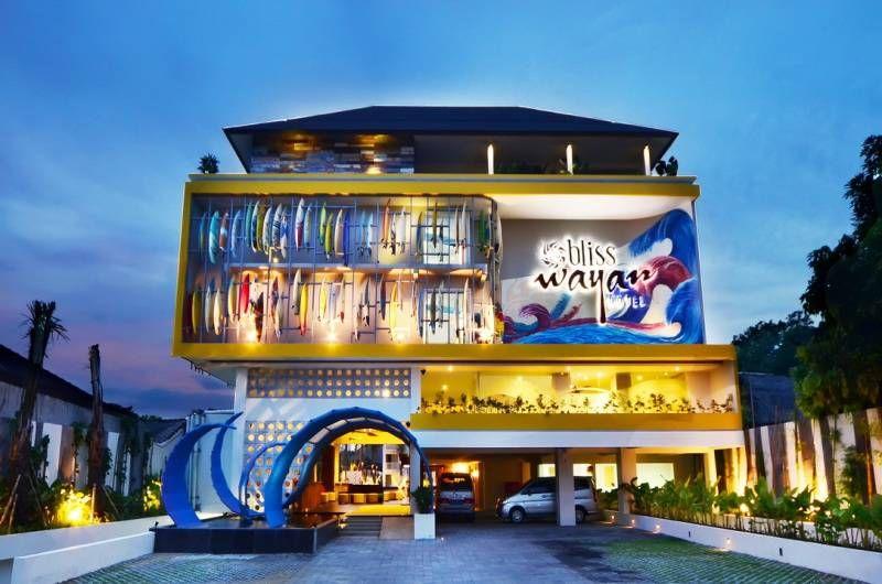 Bliss Wayan Hotel Legian Bali Is Four Star Stylish Nestled In Heart Of Kuta At Sriwijaya Street