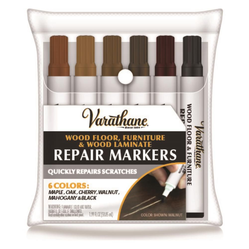 Varathane 1 3 Oz Wood Stain Touch Up Marker Kit 12 Pack 347840 The Home Depot In 2020 Staining Wood Varathane Wood Stain Varathane Stain