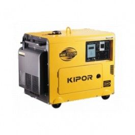 Generator De Curent Kipor Kde 6700 Ta Diesel 5 Kva Diesel Generator For Sale Generators For Sale Diesel Generators