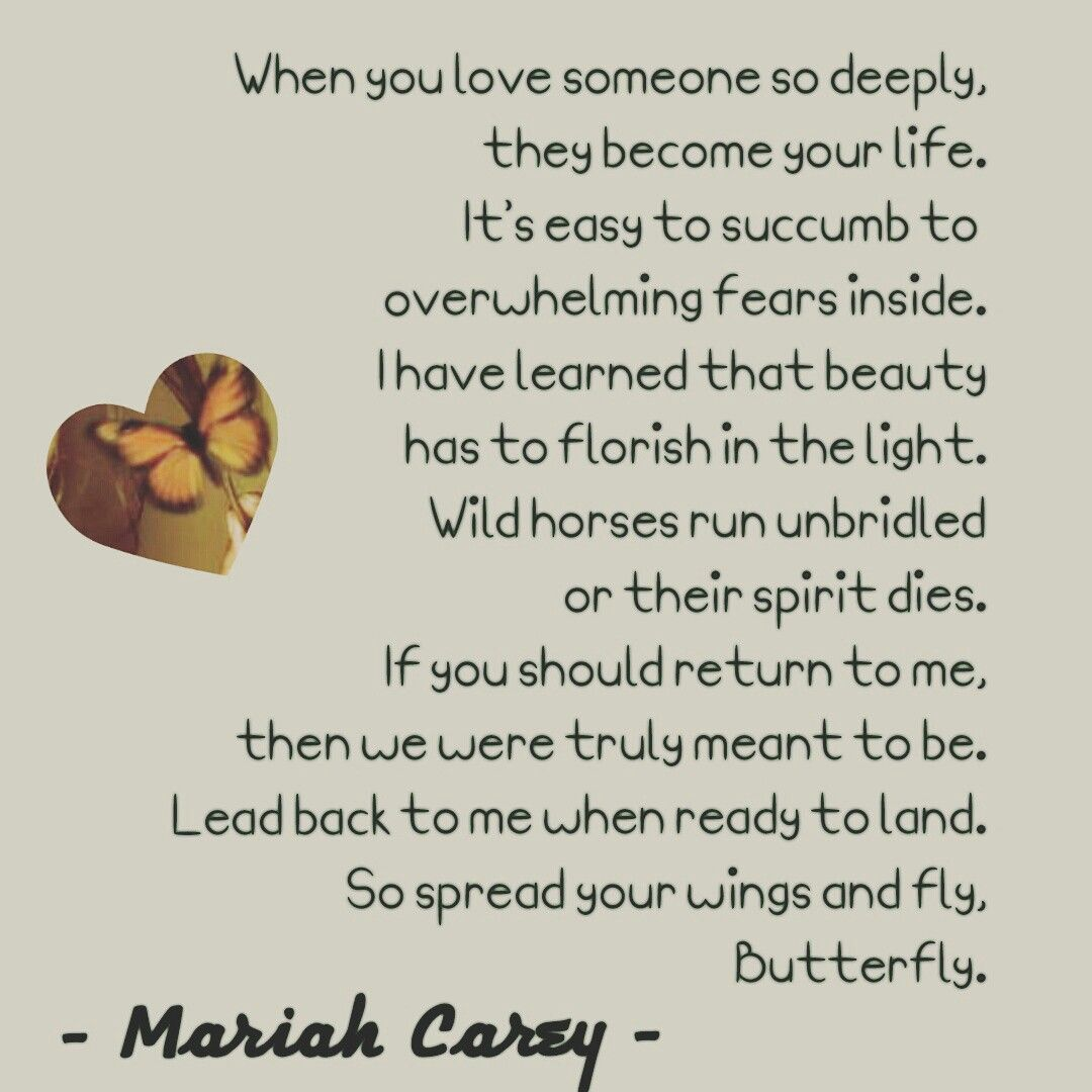 Butterfly  Mariah Carey  1990s  Best lyrics ever  | My Idols
