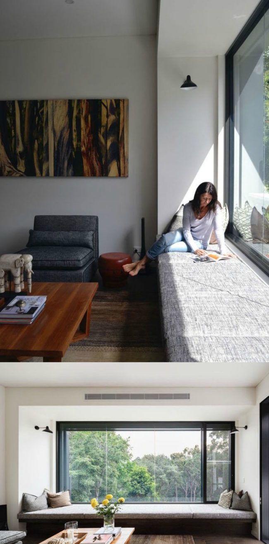 Fensterbank zum sitzen modern gestalten 20 designideen test - Fensterbank zum sitzen bauen ...