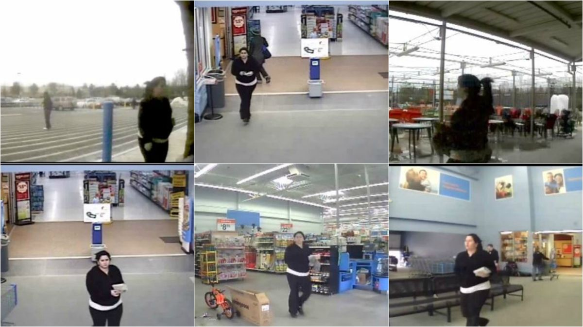 VIDEO: Wanted woman captured multiple times on Walmart security ...