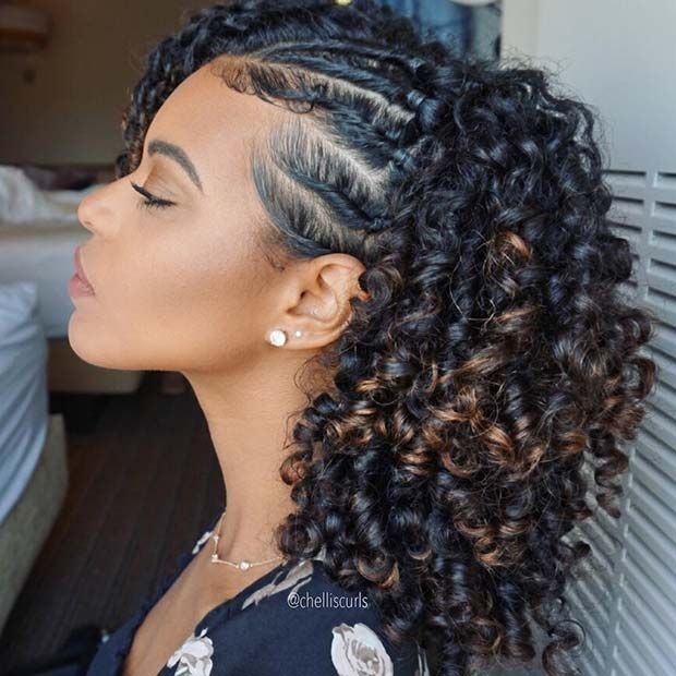 23 Summer Protective Styles For Black Women Curly Hair Styles