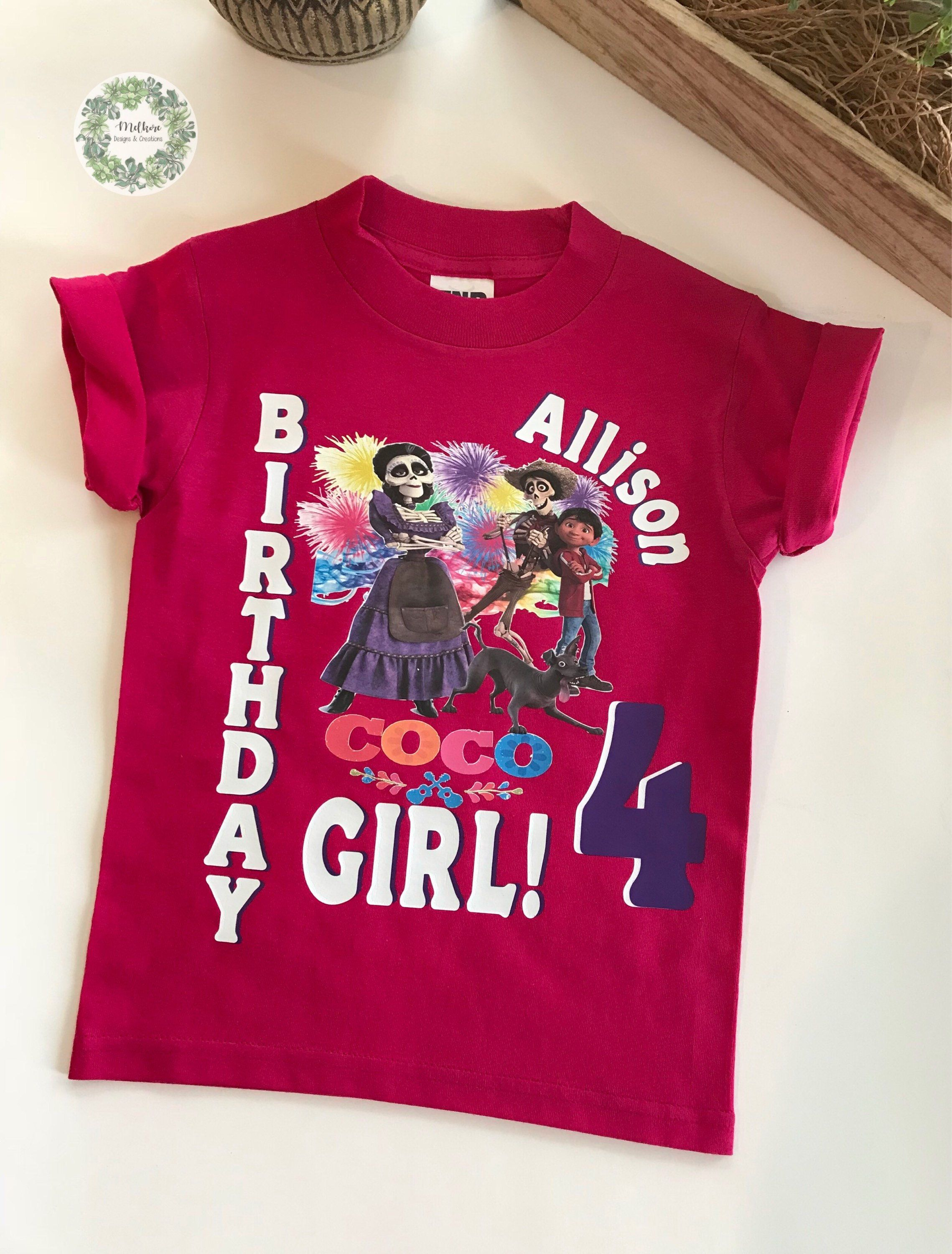 cfb164b1 Excited to share the latest addition to my #etsy shop: Coco t-shirt - Coco  theme birthday - Coco birthday shirt - Coco birthday - Coco mama Imelda