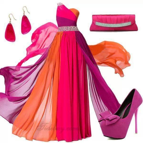 Fiusha,wow!!!! | Colores en la ropa | Pinterest | La ropa ...
