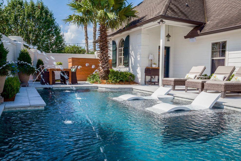 16 Extravagant Transitional Swimming Pool Designs You Won T Regret