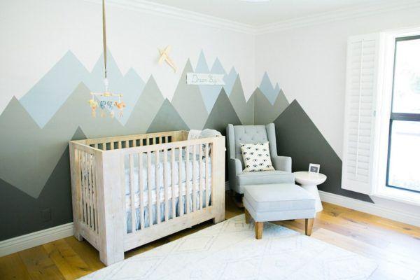 Babykamer Groen Blauw.Blauwe Babykamer 10x Inspiratie Blauw Stoer En Hip