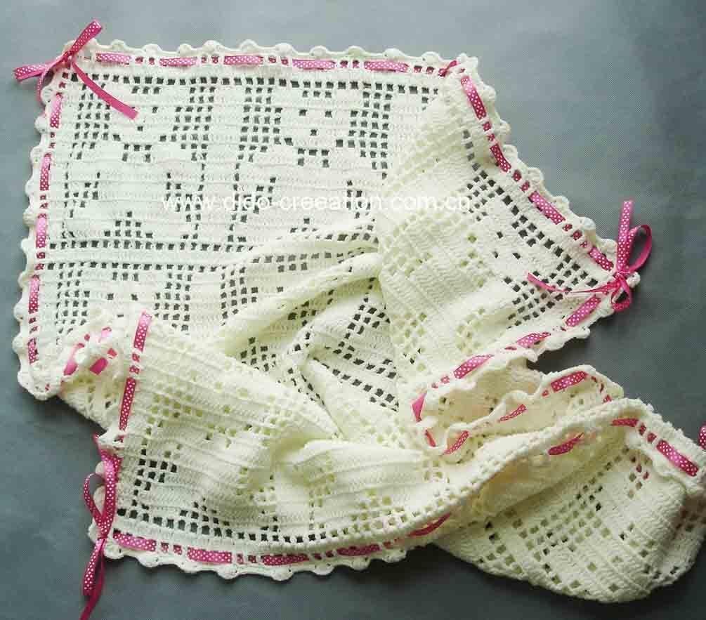 mantas bebe crochet - Buscar con Google | colchas y mantas ...