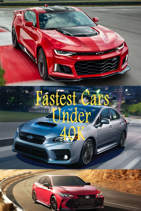 Fastest Cars Under 40k in 2020 Fast cars, Affordable