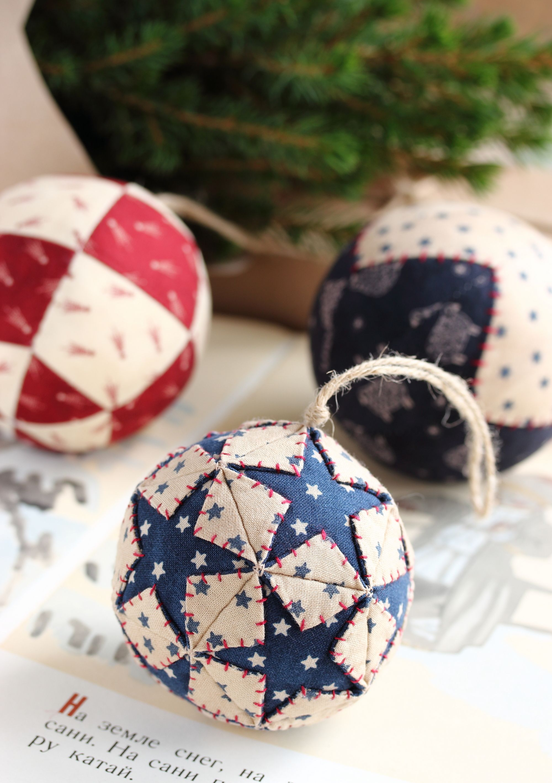 Pdf Three Christmas Balls Sewing Pattern Quilted Christmas Balls Baubles Ornament Diy Christmas Ornament Christmas Tree Decoration Fabric Christmas Ornaments Christmas Ornaments Quilted Christmas Ornaments