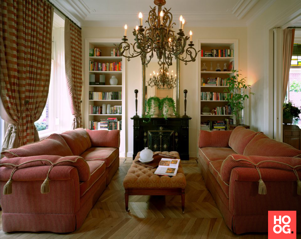 Luxe meubels in landelijk interieur | interieur ideeen | woonkamer ...