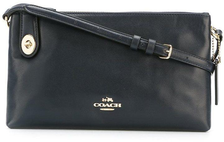 Coach zipped shoulder bag