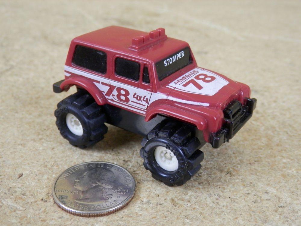 Vintage Schaper Stomper Jeep Renegade 4x4 78 Red Maroon Non