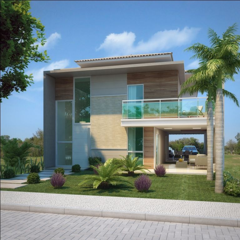 Fotos de fachadas de casas duplex fachadas casas y rusticas for Fachadas duplex minimalistas