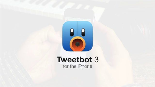 Tweetbot 3 for iPhone Iphone, Ios app, Mobile web