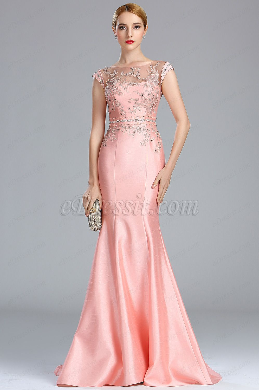 28ecfeb7 Looking for low price but high quality eDressit Pink Sparkly Lace Beaded  Flower Girl Prom Dress (02173301)? eDressit.com can custom-made for you!