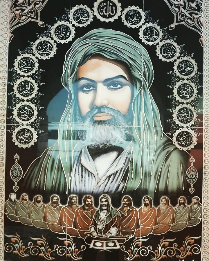 Pin oleh Hammad Akhtar Awan di aa hussain r.a Seni