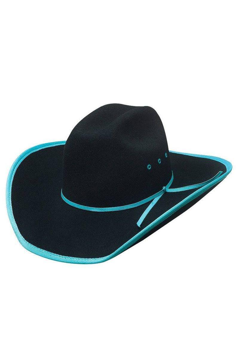 6b1aa669d0d Kids  Cowboy Hats - Bullhide Leave Your Mark Black   Turquoise Cowboy Hat