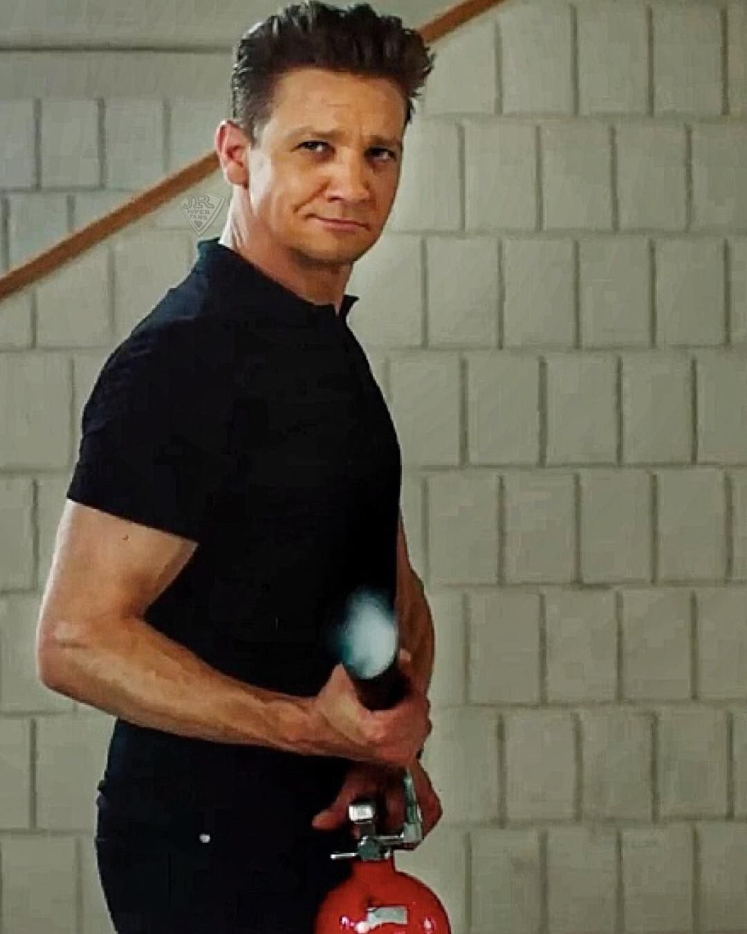 Jeremy renner in tag movie youure it rennerreal jeremyrenner