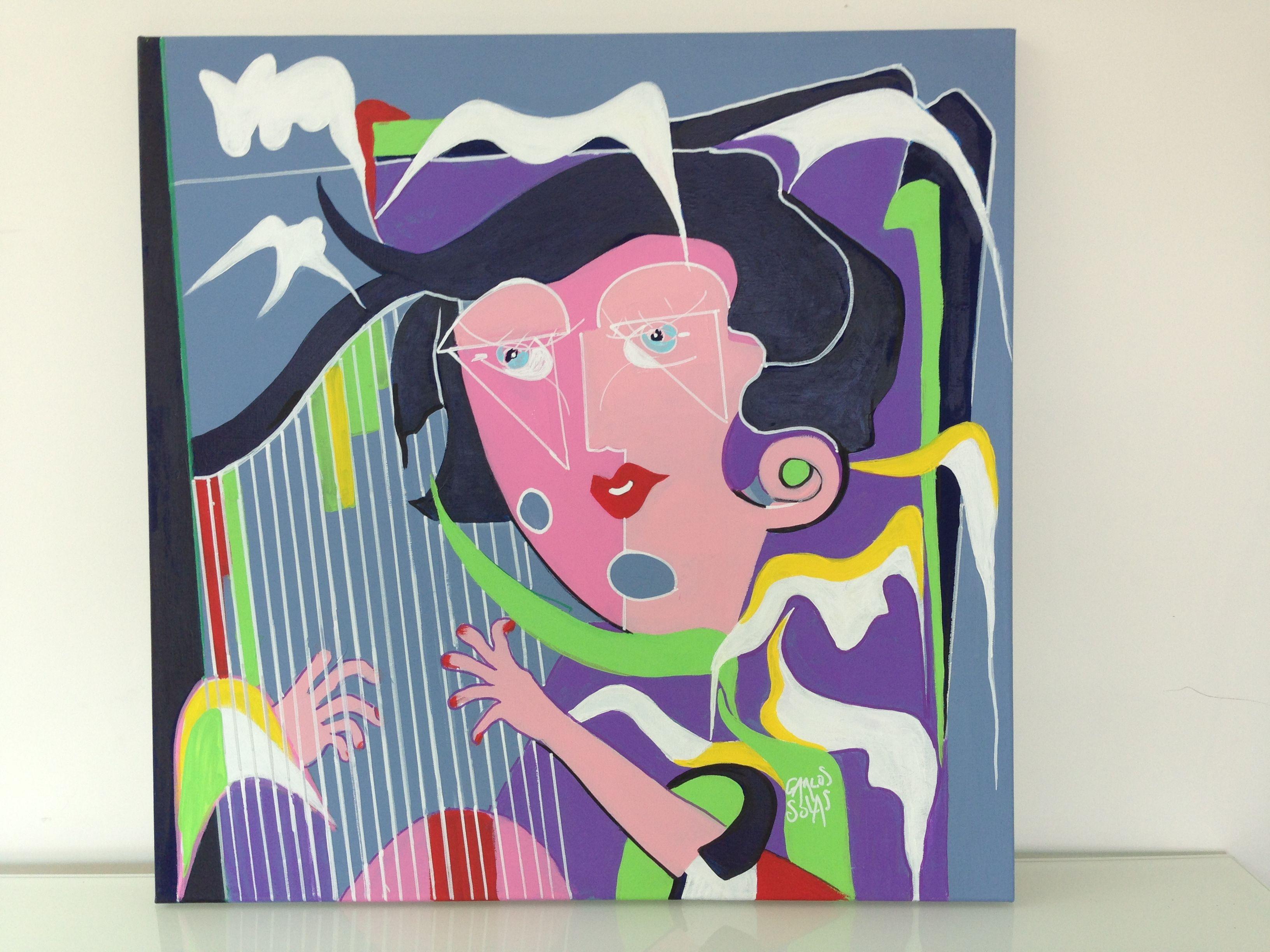 Épinglé par Carlos Solas sur Musique | Musique, Peinture